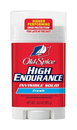 Old Spice Anti-perspirant High Endurance Invisible Solid - FRESH, 3oz