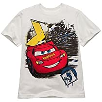 Disney Organic Lightning McQueen Tee for Boys