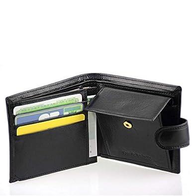portefeuille l 39 italienne l 39 italienne portefeuille homme en cuir noir n1283 n1283. Black Bedroom Furniture Sets. Home Design Ideas