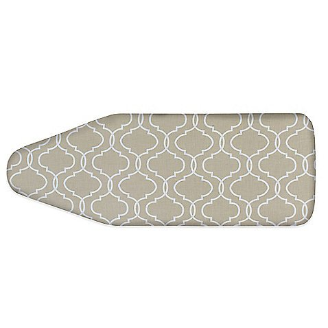 Extra-Wide Ironing Board Front in Taupe