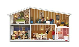 lundby smaland puppenhaus 1 18 spielzeug. Black Bedroom Furniture Sets. Home Design Ideas