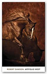 "Horse Dancer by Robert Dawson 24""x36"" Art Print Poster"