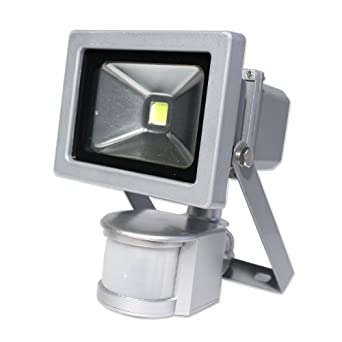 2 X LED Strahler Mit Bewegungsmelder Sensor Wandstrahler Außenleuchte Solar Spot