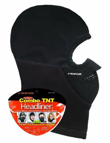 Seirus Innovation Combo TNT Headliner, Black, One Size