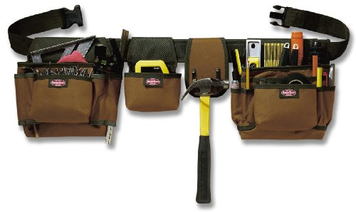 Bucket Boss 55033 21 Pocket Builder's Rig Tool Belt