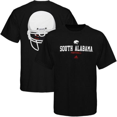 adidas South Alabama Jaguars Eyes T-Shirt - Black (Medium)