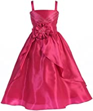 Wonder Girl Verona Big Girls39 Taffeta Long Bolero Dress