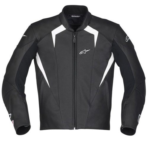 Alpinestars MotoGP Jerez Leather Jacket - Free Shipping (Black Size Large US 42 / Euro 52)