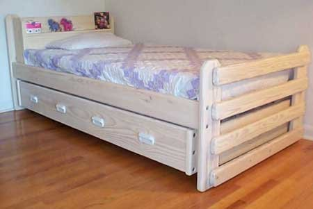 trundle bed building plans