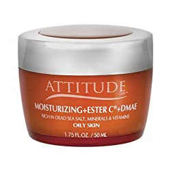 Attitude Moisturizer With Ester C And DMAE - 1.75 Ounce - For Oily Skin