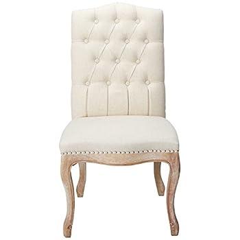 Christopher Knight Home 214308 Jolie Beige Linen Dining Chair (Set of 2)