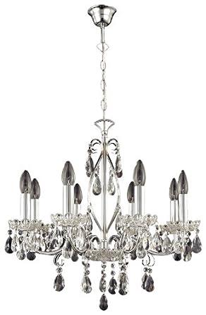 paul neuhaus 8 flammiger kronleuchter casta chromfarben 3088 17 dc169. Black Bedroom Furniture Sets. Home Design Ideas