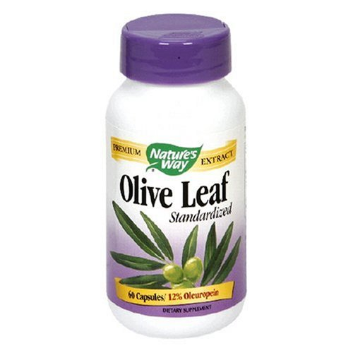 Natures Way Olive Leaf, Vcap Standardized, 60 Cap