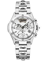 JPG Stainless Steel Case, Silver Dial, Stainless Steel Bracelet