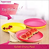 Tupperware Snack Plates Set Of 4