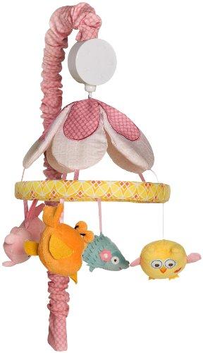 Kids Line Dena Happi Tree Musical Mobile, Pink
