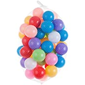 """Each Well Pack Of 50 Pcs 2.76""""/ 7cm Colorful Soft Plastic Ocean Ball For Ball Pit Fun Ball Baby Kid Toy Swim Pit..."""