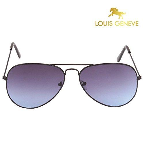Louis Geneve Sunglasses for Men Aviator LG-SM-61-FB-NBLUE