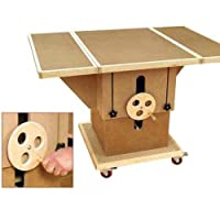 Adjustable 3-in-1 Assembly Table