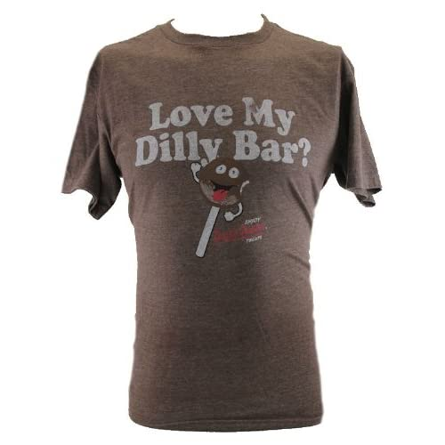 """Amazon.com: Dairy Queen Mens T-Shirt - """"Love My Dilly Bar"""" Distressed"""