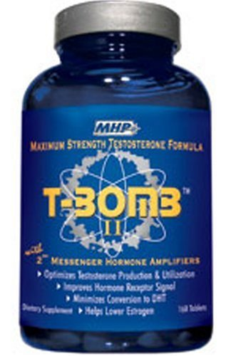 MHP T-Bomb II with 2nd Messenger Hormone Amplifiers, Tablets, 168 tablets