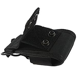 Dreamworth 5-Pack 3in1 Multi-function Universal Pouch Bag Holster Case for GPS Pmr446 Motorola Kenwood Midland Icom Yaesu Two Way Radio Transceiver Walkie Talkie Msc-20C