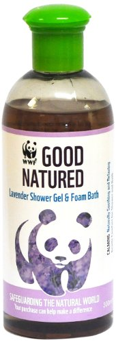 WWF Good Natured Lavender Shower Gel and Foam Bath 300ml