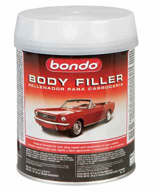 Bondo 262 Lightweight Filler Quart Can - 1 lbs 12 oz.