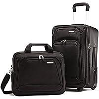 Samsonite 2 Piece Upright Luggage Set (Black)