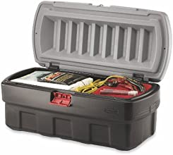 Rubbermaid Commercial 1192-01-38 48-gallon Black Action Packer Cargo Box