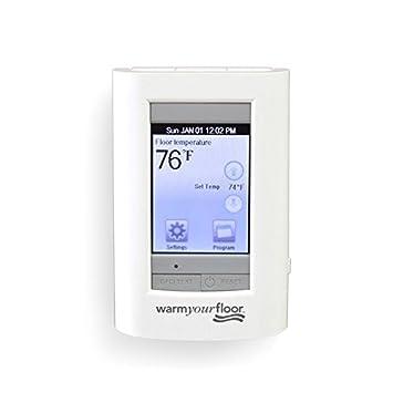 sun touch sunstat view touch screen programmable floor heat rh sites google com Single Pole Thermostat Wiring Diagram Cadet Thermostat Wiring Diagram