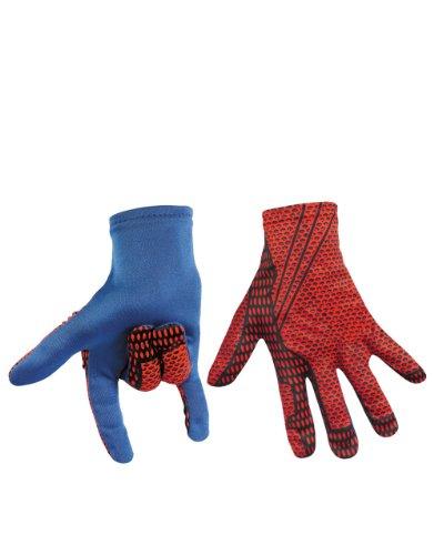 Amazing Spiderman Costume Accessory, Kids Spiderman Movie Gloves