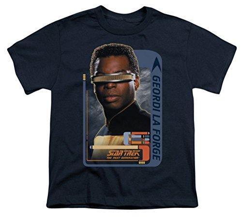 Youth: Geordi Laforge Star Trek The Next Generation T-Shirt CBS581YT