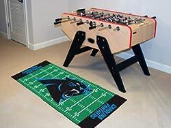 """Carolina Panthers 30""""x72"""" Runner Floor Mat (Rug)"""