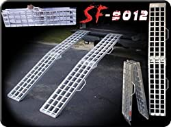 "Quad ATV Cargo Arched Loading Storage Ramps - Fold design (pair) 90"" Length"