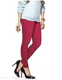 JV Hosiery Women's Cotton Leggings(JVH002_White_Free Size)