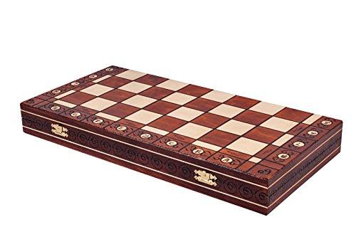 The Jarilo - Unique Wood Chess Set, Pieces, Chessboard & Storage 5