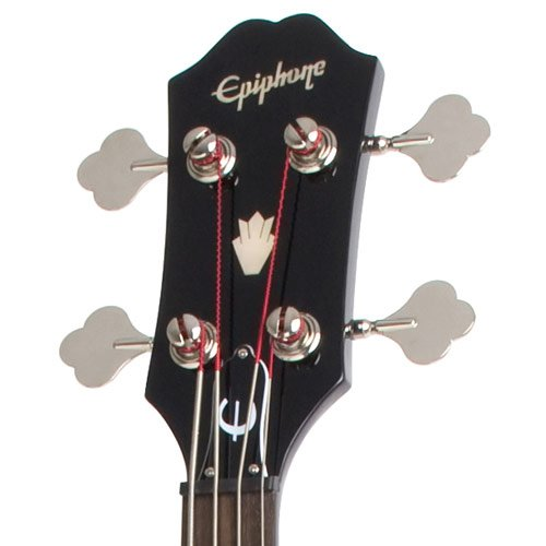 Epiphone EB-3 Electric Bass Guitar, 2 Pickups, Ebony