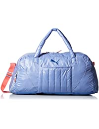 PUMA FIT AT SPORTS Women DUFFLE BAG BLUE 7413404
