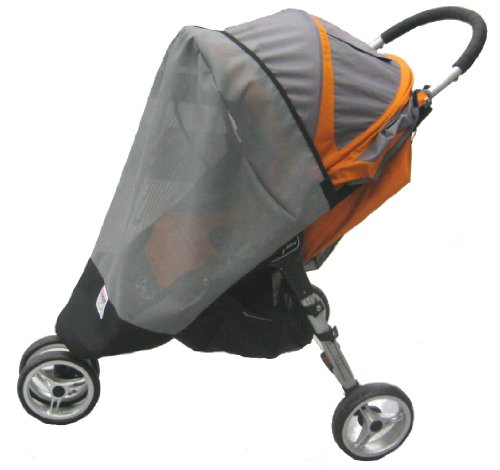 Sashas Sun, Wind and Insect Cover for Baby Jogger City Mini Single Stroller Model