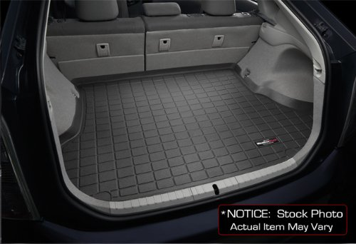 img View detail 2007-2011 Toyota Camry Sedan Hybrid WeatherTech Black Cargo Liners All Weather from amazon.com