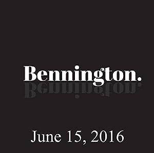 Bennington, June 15, 2016 Radio/TV Program