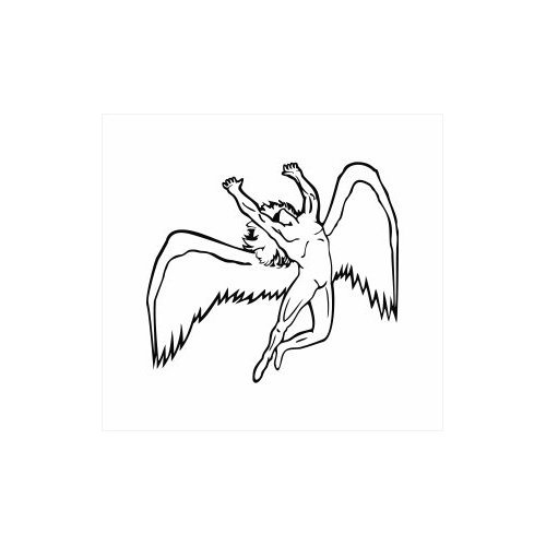 Led Zeppelin Angel Logo Car Interior Design