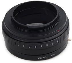 Pixco Lens Adapter For Tilt Contax YAshica CY Lens To Sony NEX Camera Adapter A5100 A6000 A5000 NEX-