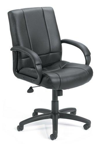 Boss Mid-Back Caressoft Chair Black