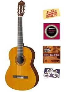 Amazon.com: Yamaha C40 Nylon String Acoustic Guitar Bundle ...