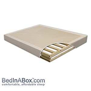 8 American Hardwood Mattress Foundation