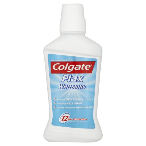 Colgate Plax Whitening Clinically Tested  Stain Prevention Mouthwash - 500ml