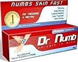 3 Tubes Dr Numb Numbing Topical Cream - Feel No Pain 30 grams