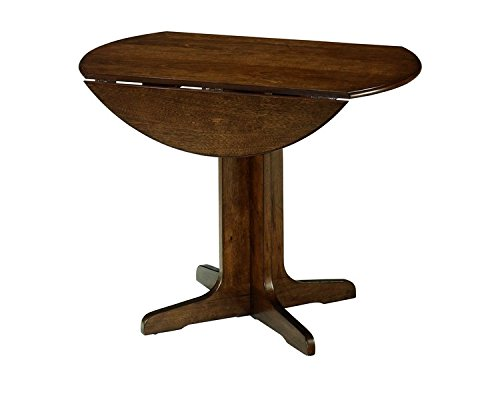 Ashley Furniture Signature Design - Stuman Dining Room Table - Drop Down Leaves - Medium Brown